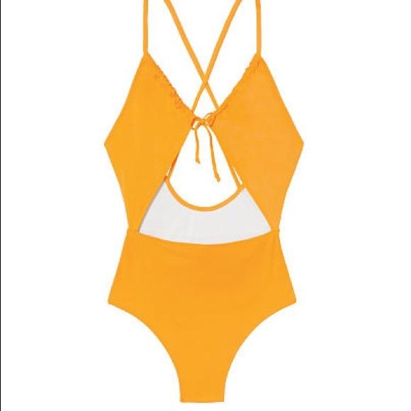d0b99829636 PINK Victoria's Secret Swim | Vs Pink Keyhole Fronttie Onepiece Nwt ...